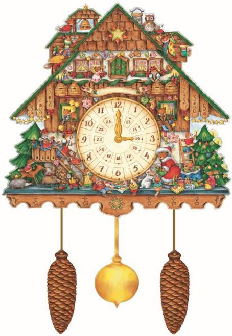 cuckoo clock advent calendar