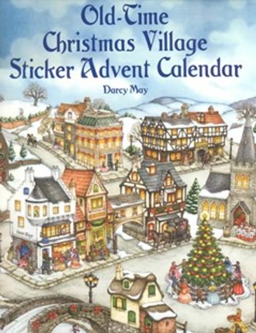 sticker advent calendar