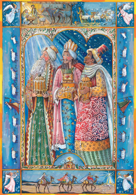 The 3 Wise Men advent calendar