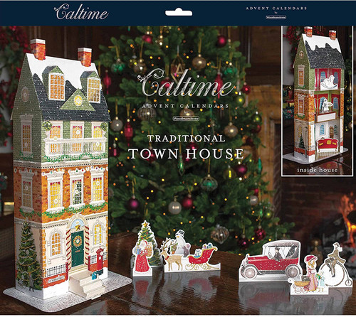 Traditional Townhouse advent calendar