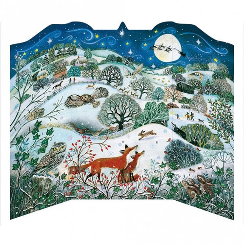 Fox Woodland Scene advent calendar