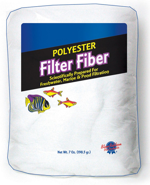 Blue Ribbon 100% Polyester Filter Floss 7oz