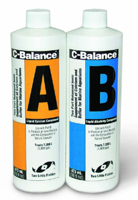 Two Little Fishies C-Balance Two-Part Calcium system 16oz