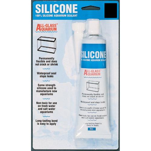 Aqueon 100% Silicone Aquarium Sealant Black 3oz