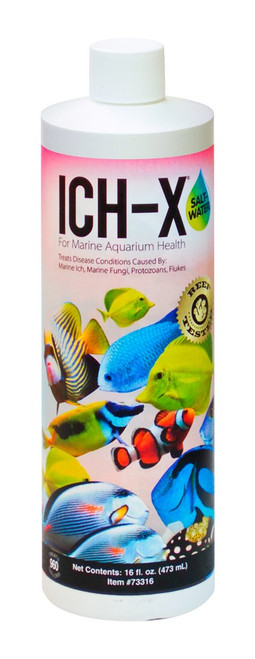 Aquarium Solutions IchX Saltwater 16oz