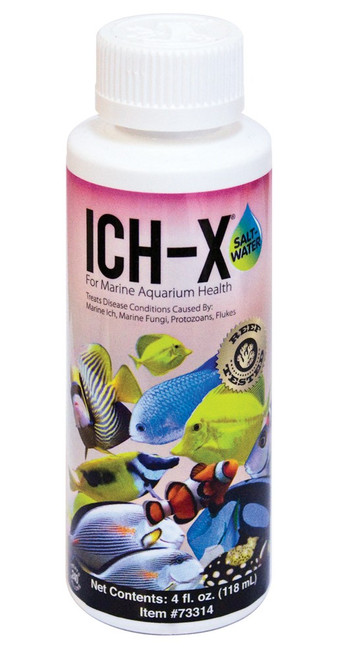 Aquarium Solutions IchX Saltwater 4oz