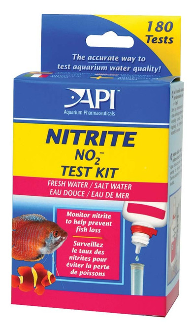 API Nitrite Test Kit Freshwater and Saltwater 180 Tests
