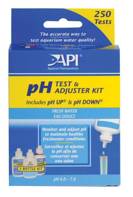 API pH Test & Adjuster Kit Freshwater 250 Tests