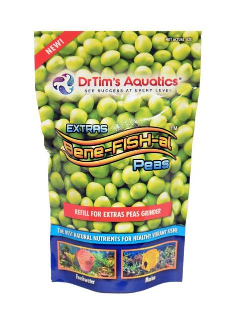Dr Tim's Aquatics EXTRAS Bene-FISH-al Peas Refill for grinder Fish Food 1.04oz