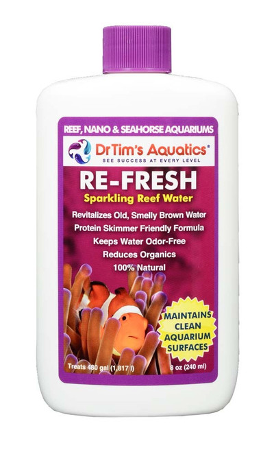 Dr Tim's Aquatics Re-Fresh Aquarium Revitalizer for Reef Aquaria 8oz