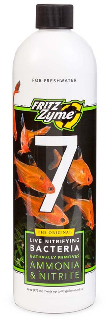 FritzZyme 7 Freshwater Nitrifying Bacteria 16oz