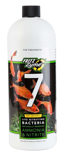 FritzZyme 7 Freshwater Nitrifying Bacteria 32oz