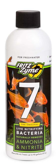 FritzZyme 7 Freshwater Nitrifying Bacteria 8oz