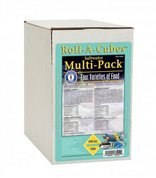 San Francisco Bay Frozen Saltwater Multipack Fish Food Roll 2lb