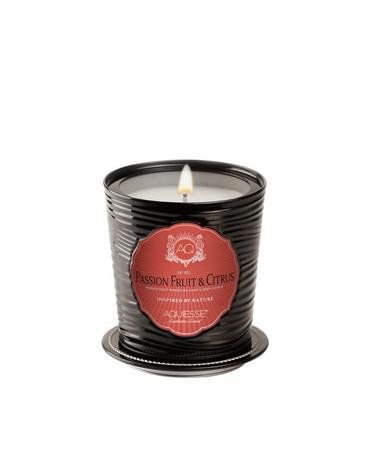 Aquiesse Portfolio Collection Passion Fruit & Citrus Tin Candle With Matchbook