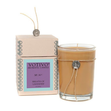 Votivo Aromatic Collection Breath of Lavender Boxed Candle