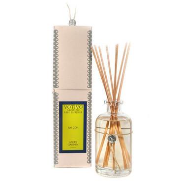Votivo Aromatic Collection Azure Garden Reed Diffuser