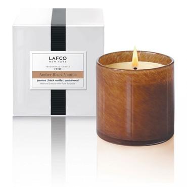 LAFCO Amber Black Vanilla/ Signature 15.5 oz Candle