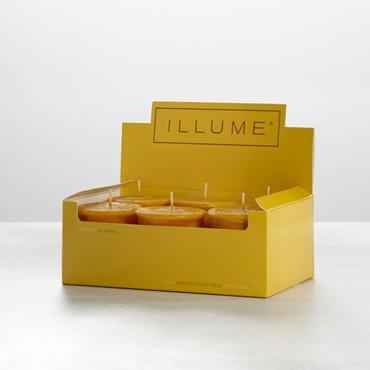 Illume Amber Dunes 6-Pack Votive Candle Set