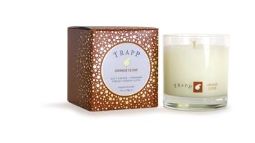 Trapp Fragrances Seasonal Collection Orange Clove Large Candle