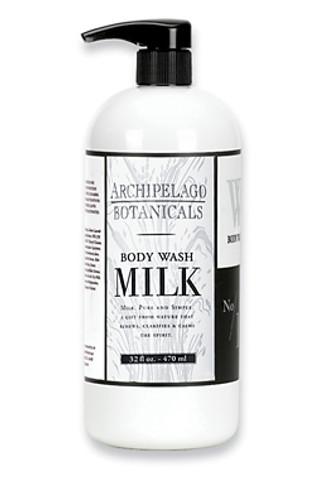 Archipelago Botanicals Milk Collection Large Body Wash