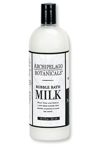 Archipelago Botanicals Milk Collection Bubble Bath