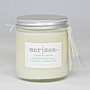 Mer Sea Afternoon Walk Travel Candle