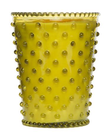 Simpatico No. 24 Fir & Grapefruit Hobnail Glass Candle