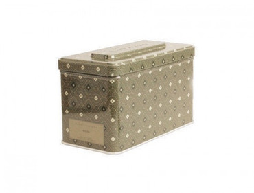 K. Hall Designs Moss 3-Wick Printed Tin Candle