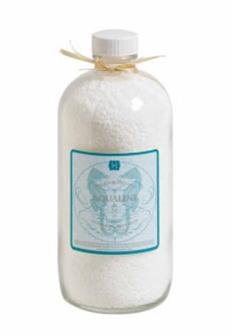 Hillhouse Naturals Aqualine Bath Salts in Glass Bottle