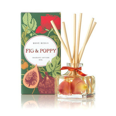 Rosy Rings Fig & Poppy Petite Reed Diffuser