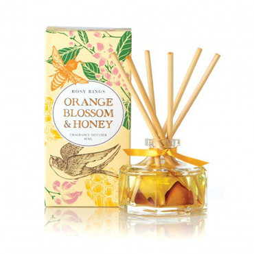 Rosy Rings Orange Blossom & Honey Petite Reed Diffuser