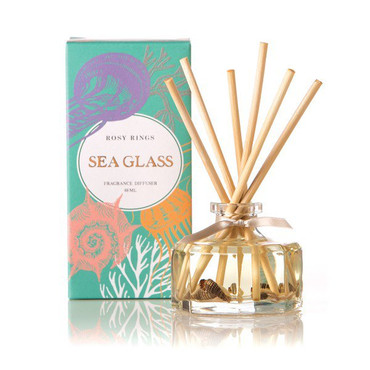 Rosy Rings Sea Glass Petite Reed Diffuser