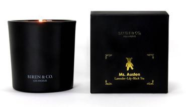 Biren & Co Ms. Austen Boxed Candle Memoris Collection