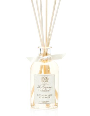 Antica Farmacista Damascena Rose, Orris & Oud Home Ambience Reed Diffuser - 100 ml