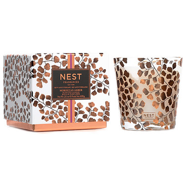 NEST Fragrances - Moroccan Amber Limited Edition 10th Anniversary 3 Wick Candle