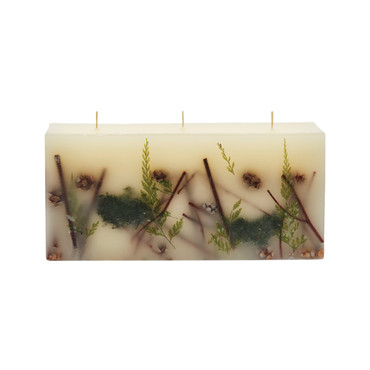 Rosy Rings Signature Collection Brick Botanical Candle – Forest