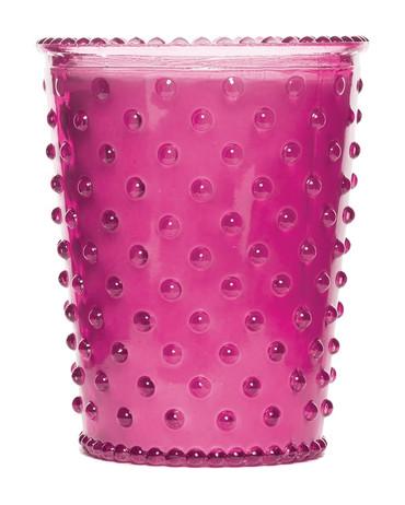 Simpatico No. 15 Grapefruit Mint Hobnail Glass Candle