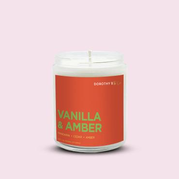 Dorothy B & Co Signature Vanilla & Amber Candle