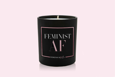 Dorothy B & Co Girl Boss Feminist AF Candle