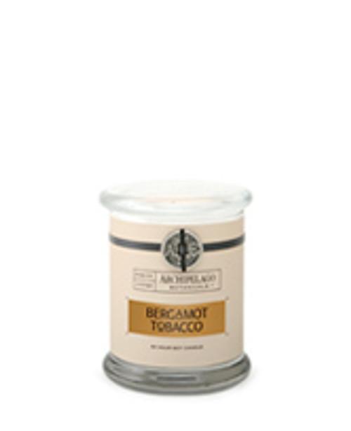 Archipelago Signature Collection Bergamot Tobacco Glass Jar Candle