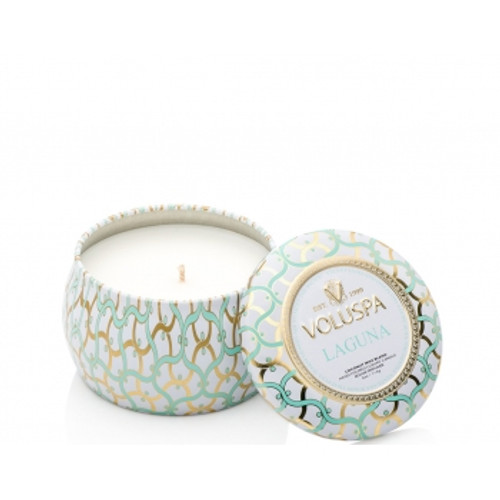 Voluspa Maison Blanc Collection Laguna Travel Tin Candle