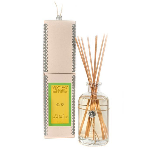 Votivo Aromatic Collection Island Grapefruit Reed Diffuser