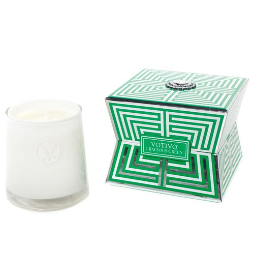 Votivo Soziety Collection Gracious Green Jar Candle