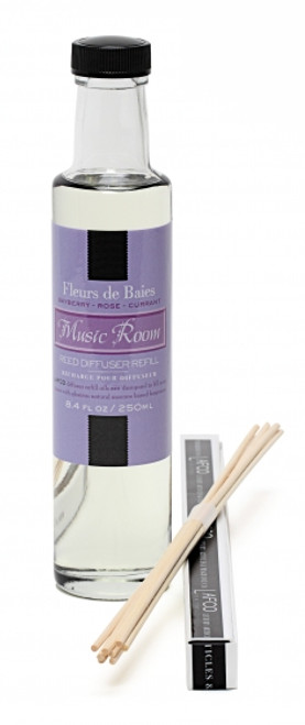 LAFCO Music Room/Fleur De Baies House & Home Diffuser Refill