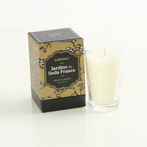 Seda France Chinese Peony Jardins du Seda France Votive Candle