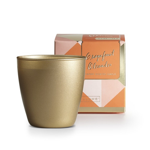 Illume Grapefruit Oleander Demi Boxed Glass Candle