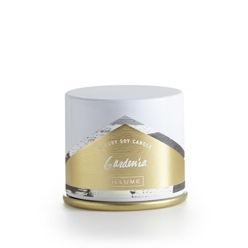 Illume Gardenia Demi Vanity Tin Candle
