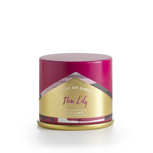 Illume Thai Lily Demi Vanity Tin Candle