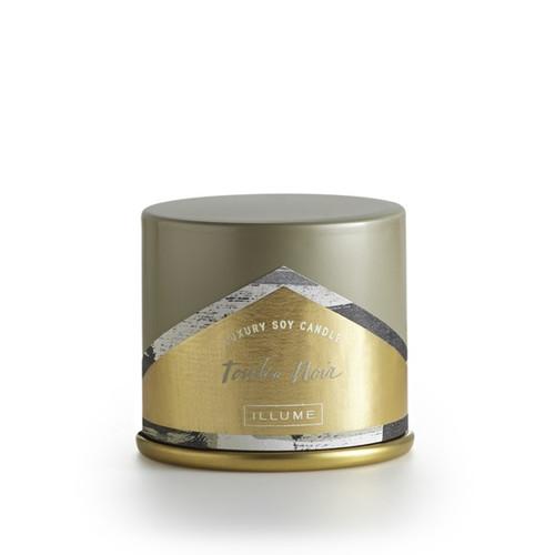 Illume Tonka Noir Demi Vanity Tin Candle